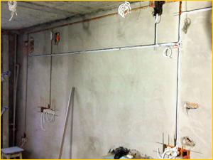 Прокладка электропроводки в квартире из двух комнат
