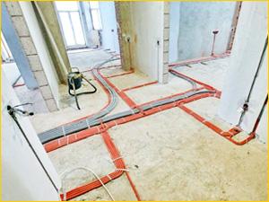 Современный способ прокладки проводки в квартире по полу