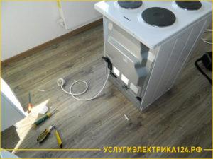 Процесс подключения электроплиты в квартире