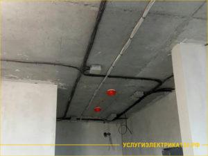 Новая проводка коридора квартиры